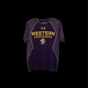 UNDER ARMOUR Size Small WIU Shirt